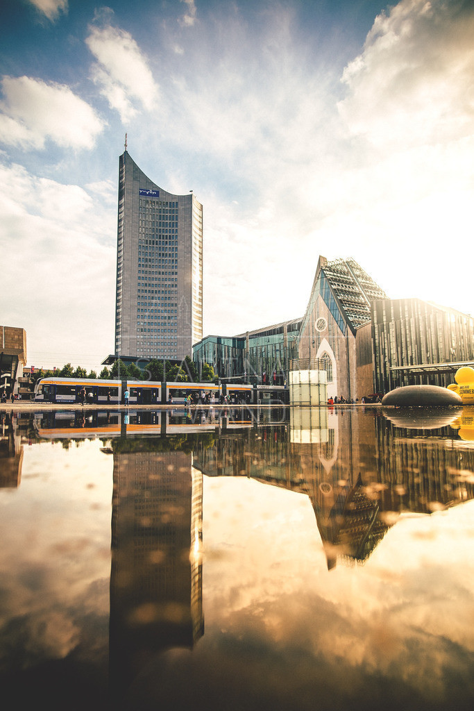 Augustusplatz Sommer Leipzig