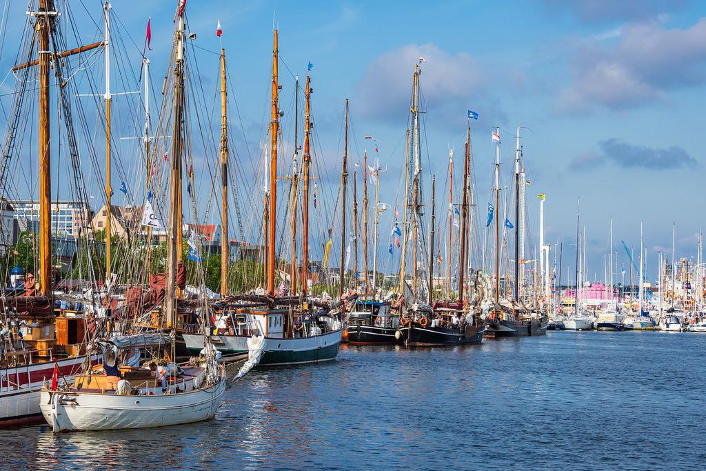 rk_06181 | Segelschiffe auf der Hanse Sail in Rostock.