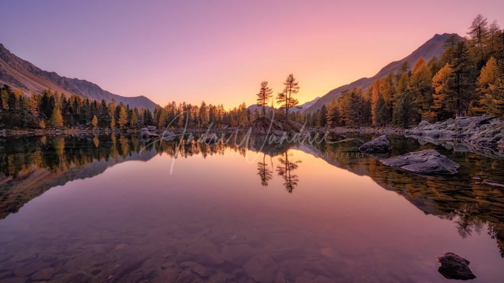 Abendstimmung am Märchensee
