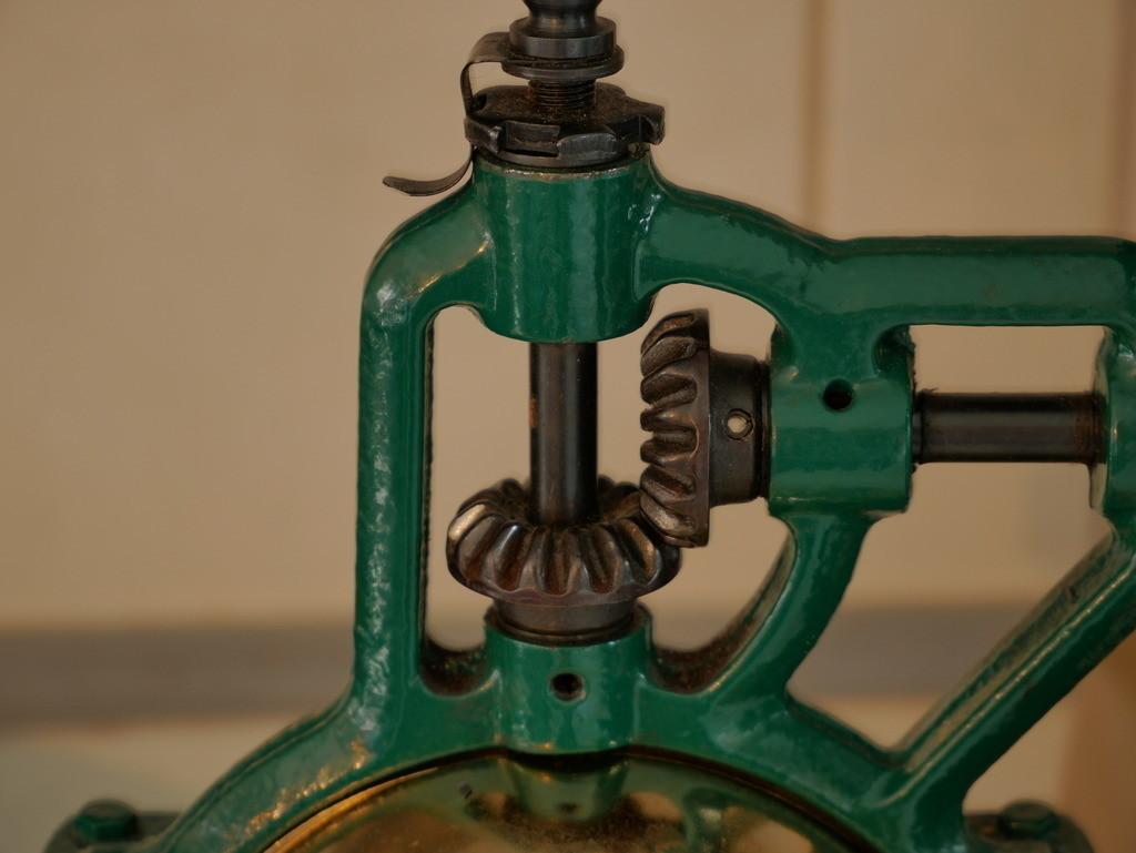 Getriebe einer Handmühle