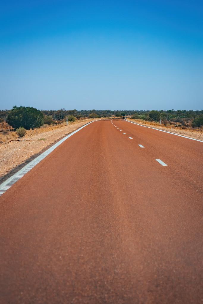 Straße nach Coober Pedy | Straße nach Coober Pedy in Australien
