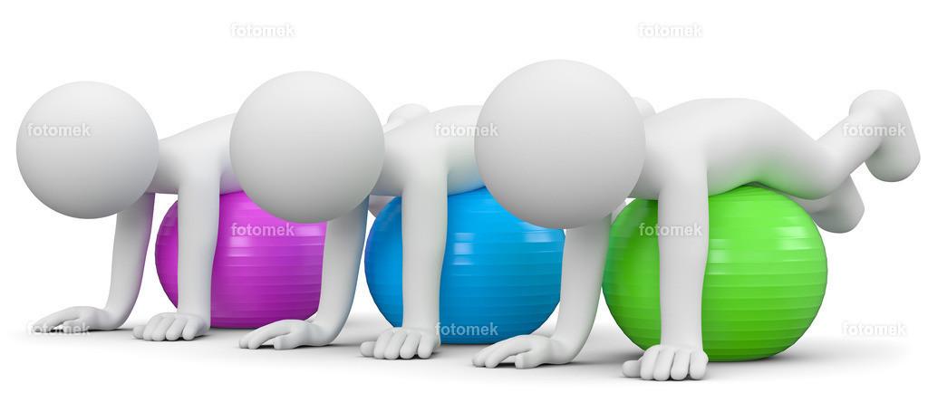 3d gemeinsame Übung Gesundheitsball