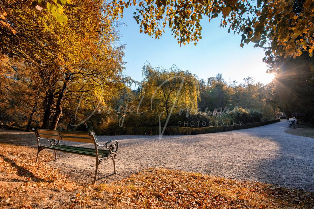 Schloss Ambras | Herbst im Schlosspark von Ambras