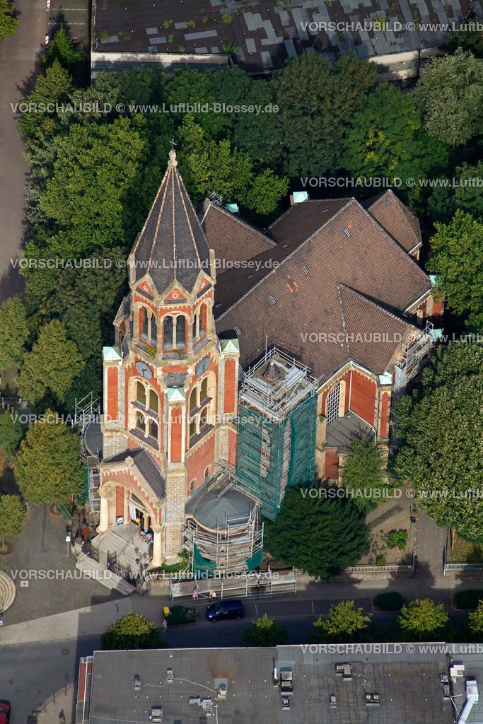 ES10098922 | Kreuzeskirche,  Essen, Ruhrgebiet, Nordrhein-Westfalen, Germany, Europa