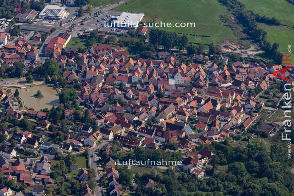 scheinfeld-19-768   aktuelles Luftbild von  Scheinfeld - Luftaufnahme wurde 2019 von https://frankenair.de mittels Flugzeug (keine Drohne) erstellt.