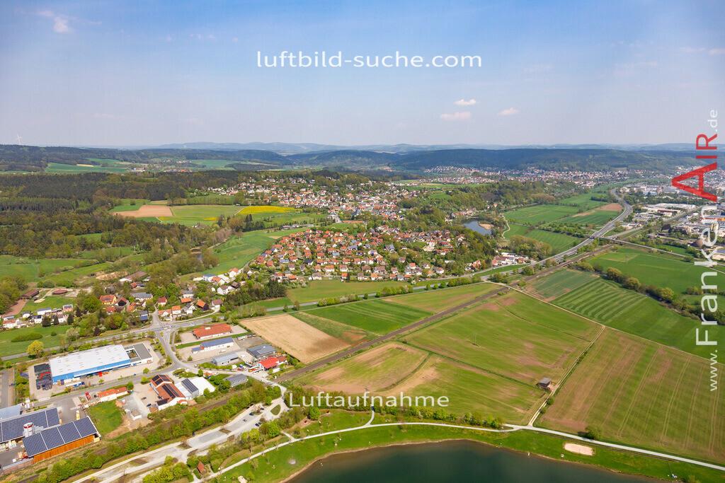 burghaig-kulmbach-18-237 | aktuelles Luftbild von Burghaig Kulmbach - Luftaufnahme wurde 2018 von https://frankenair.de mittels Flugzeug (keine Drohne) erstellt.