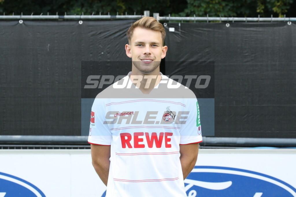1. FC Köln Fotoshooting   Georg Strauch - © Sportfoto-Sale (MK)