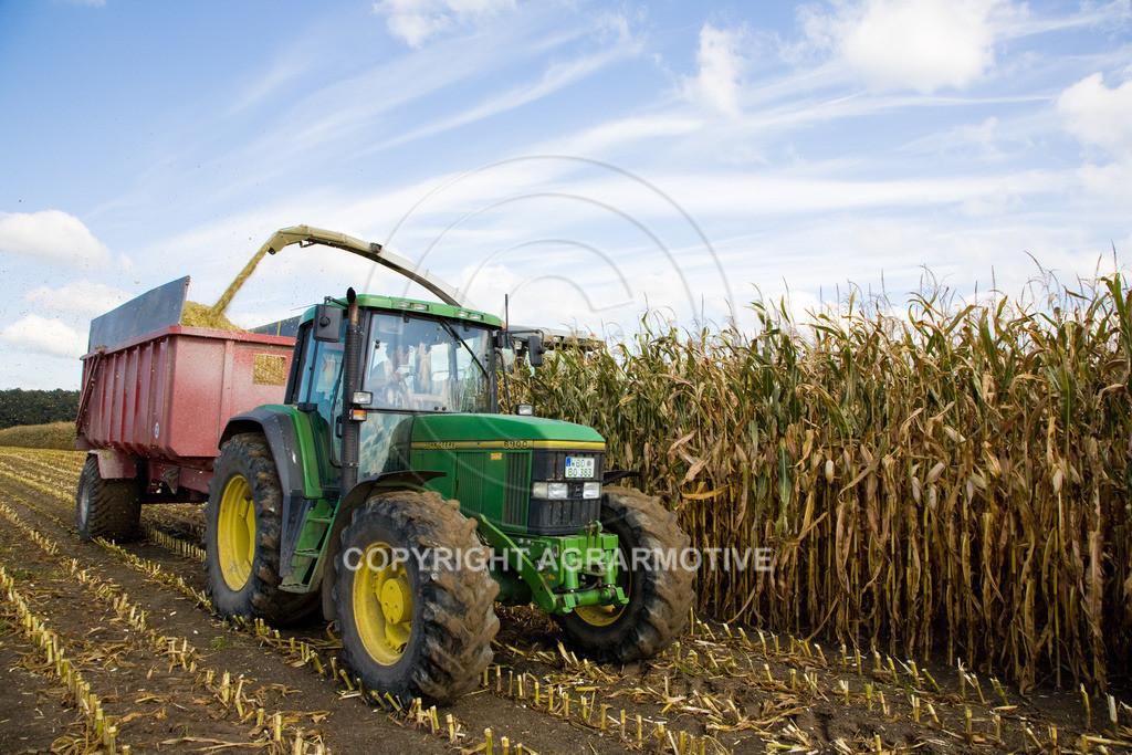 20080914-IMG_9021 | Silomais wird gehäckselt - AGRARFOTO Bilder aus der Landwirtschaft