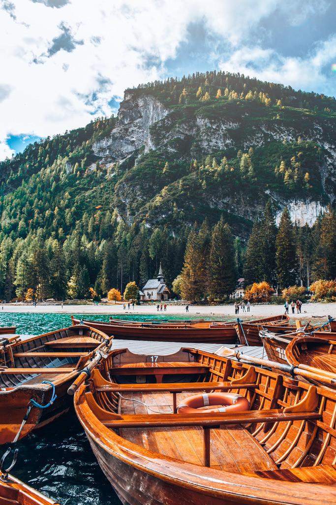 Lago di Braies | Holzboote im Pragser Wildsee