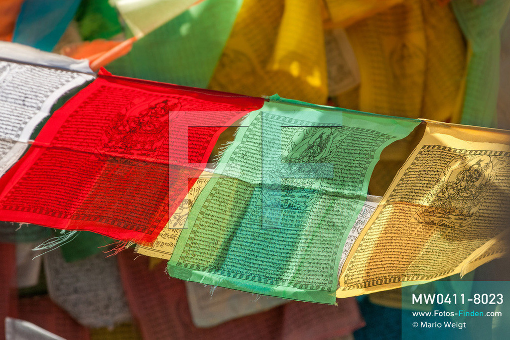 MW0411-8023 | China | Meditative Fotos | Gebetsfahnen in Tibet -  Im Land des Dalai Lama  ** Feindaten bitte anfragen bei Mario Weigt Photography, info@asia-stories.com **