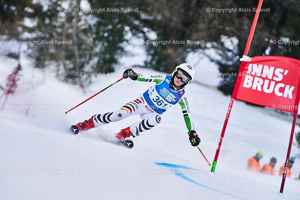 ALS5451_WWMG_GS-II_C | (C) FotoLois.com, Alois Spandl, WinterWorldMastersGames 2020 Innsbruck, Giant Slalom-II Gruppe C Damen, Patscherkofel Olympiaabfahrt, Mi 15. Jänner 2020.