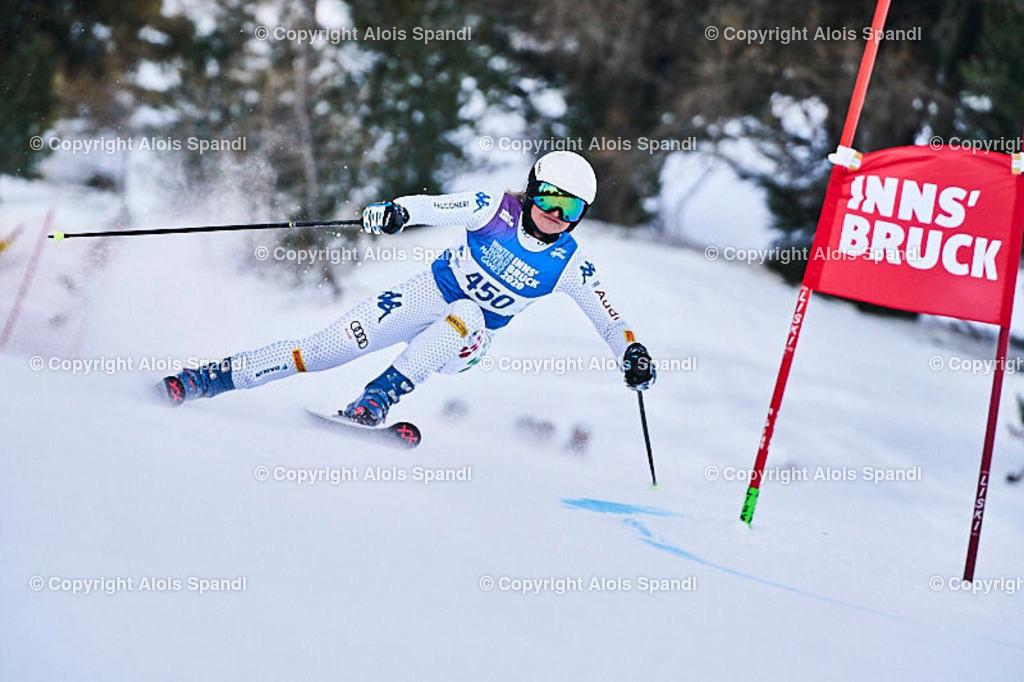 ALS5918_WWMG_GS-II_C | (C) FotoLois.com, Alois Spandl, WinterWorldMastersGames 2020 Innsbruck, Giant Slalom-II Gruppe C Damen, Patscherkofel Olympiaabfahrt, Mi 15. Jänner 2020.