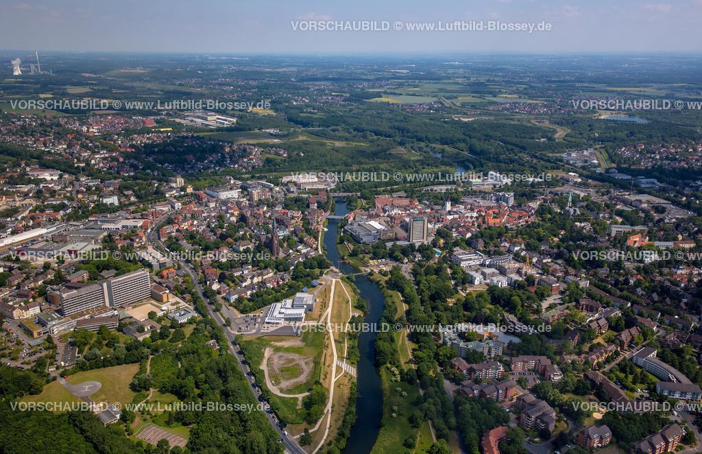Luenen15064028 | Blick auf den Stadtkern von Lünen mit dem Umbau des Hertie-Hauses, Lünen, Ruhrgebiet, Nordrhein-Westfalen, Deutschland