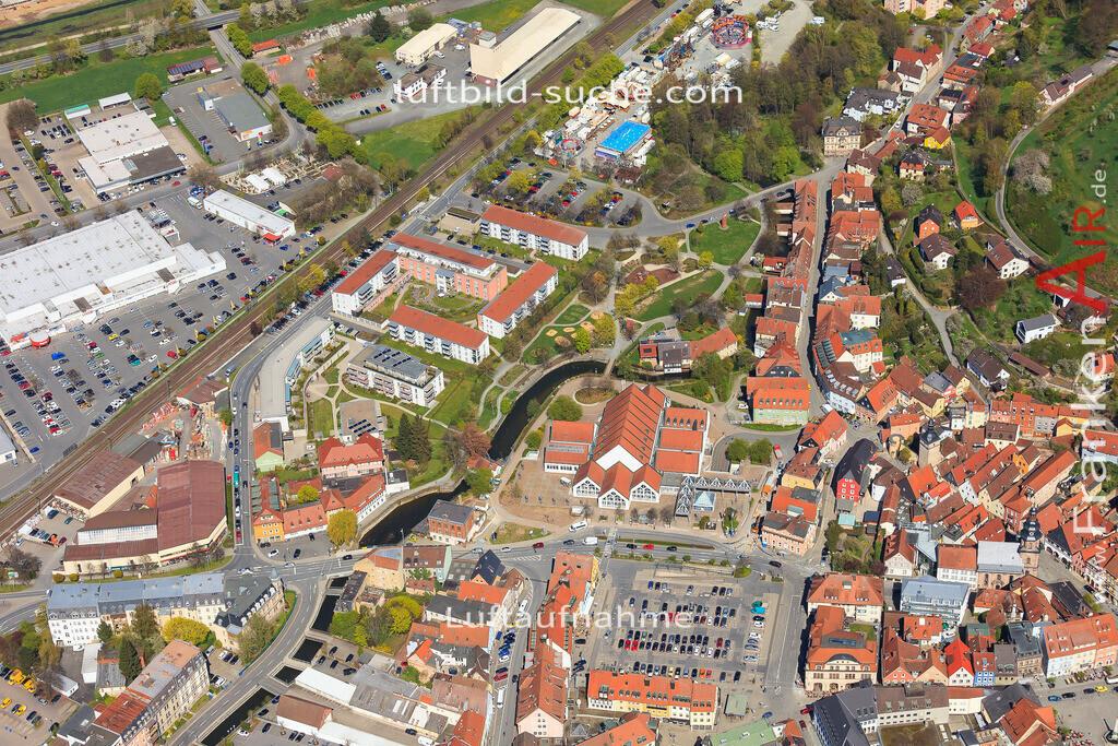 luftbild-kulmbach-2016-6451 | Luftbild von  Kulmbach - Luftaufnahme wurde 2016 von https://frankenair.de mittels Flugzeug (keine Drohne) erstellt - die Geschenkidee