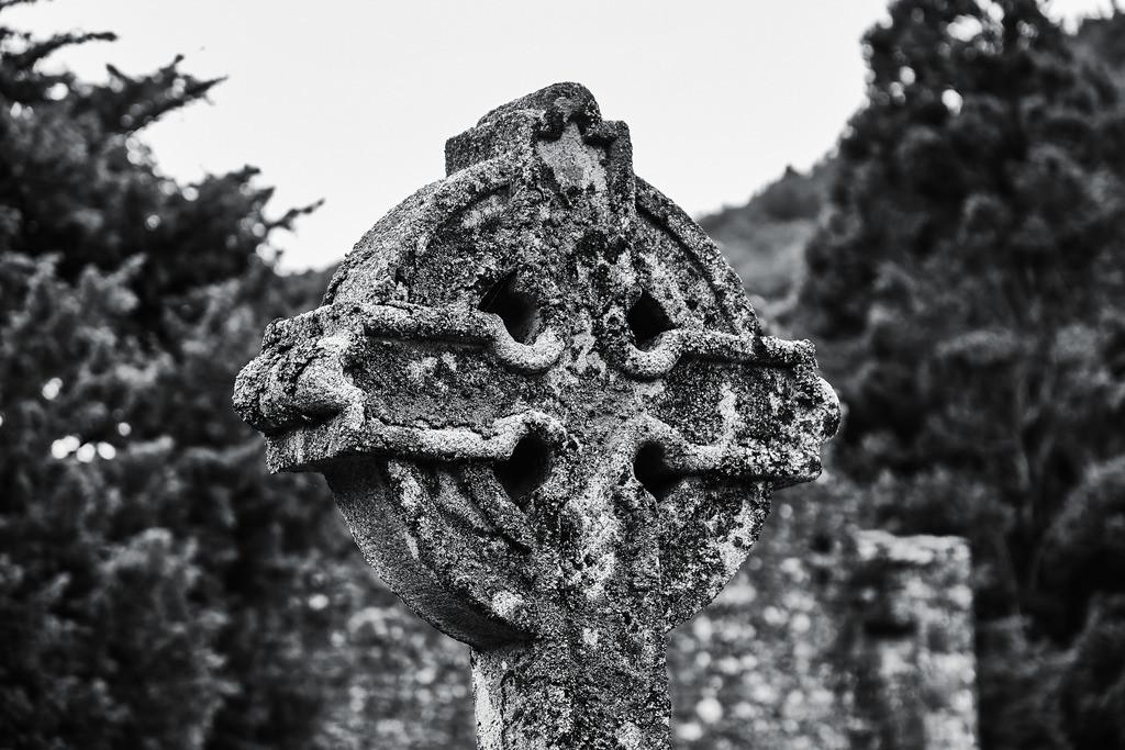 Ireland-Glendalough B+W (2)