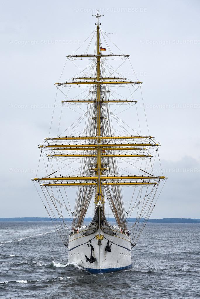 Gorch Fock Rückkehr nach Kiel | Kiel, nach fast sechs Jahren und einer vollständigen Grundinstandsetzung für 135 Millionen Euro kehrt das Segelschulschiff Gorch Fock (Bj. 1958) in seinen Heimathafen nach Kiel zurück.
