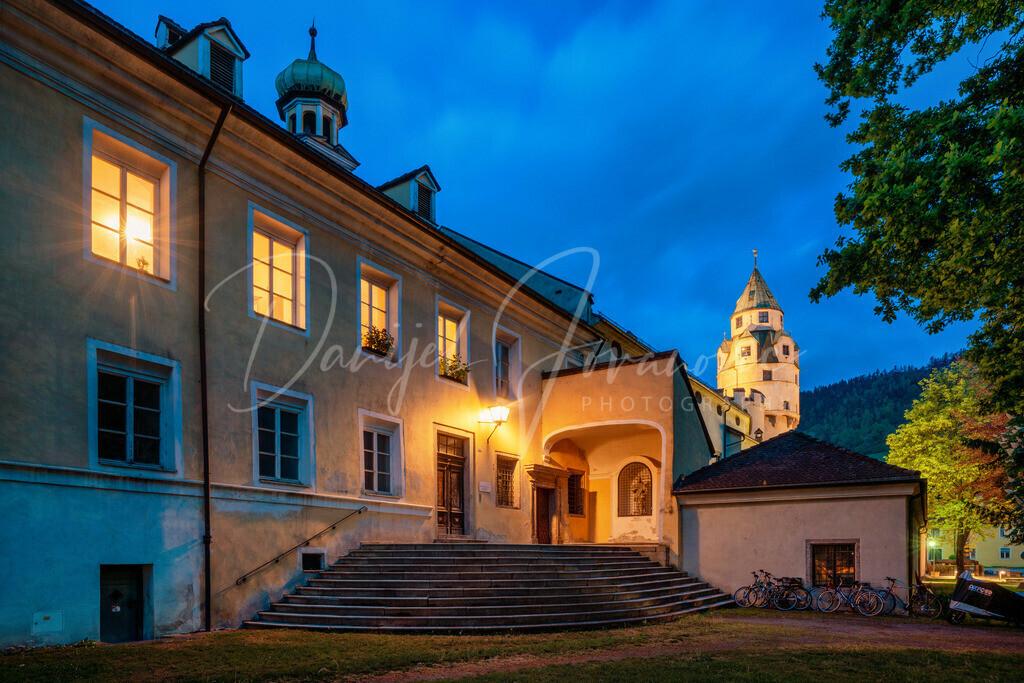 Hall in Tirol | Blick zum Münzturm in Hall in Tirol
