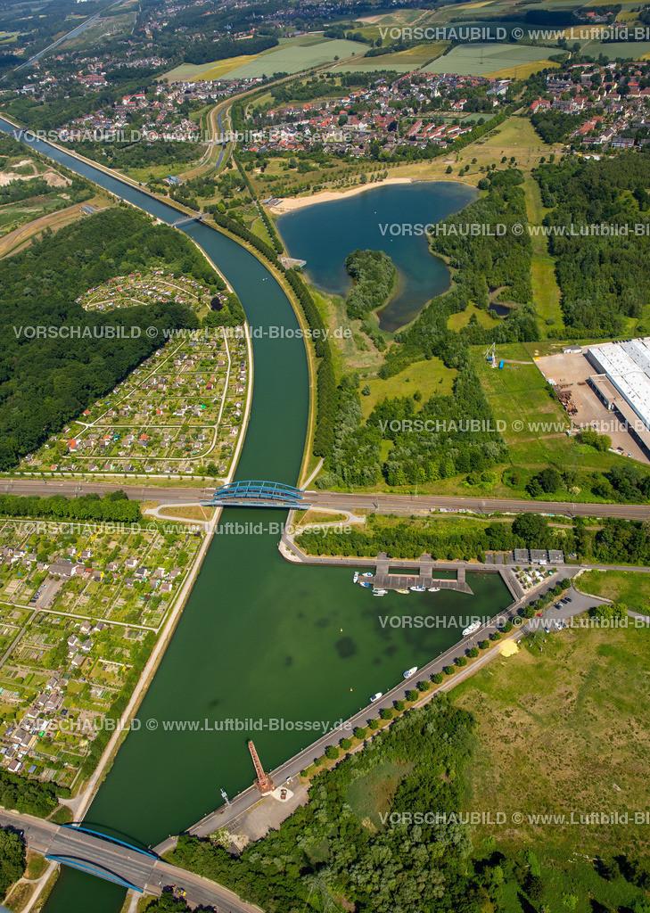 Luenen15064059 | Seepark Lünen mit Kanal und Preußenhafen, Datteln-Hamm-Kanal, Lünen, Ruhrgebiet, Nordrhein-Westfalen, Deutschland