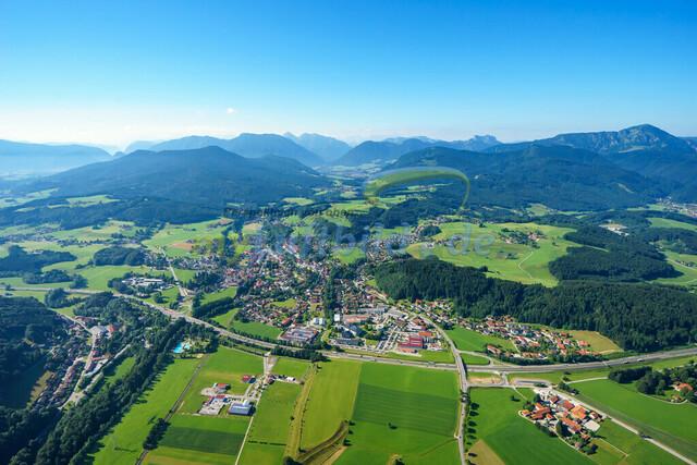 luftbild-siegsdorf-bruno-kapeller-02 | Luftaufnahme von Siegsdorf im Sommer 2016
