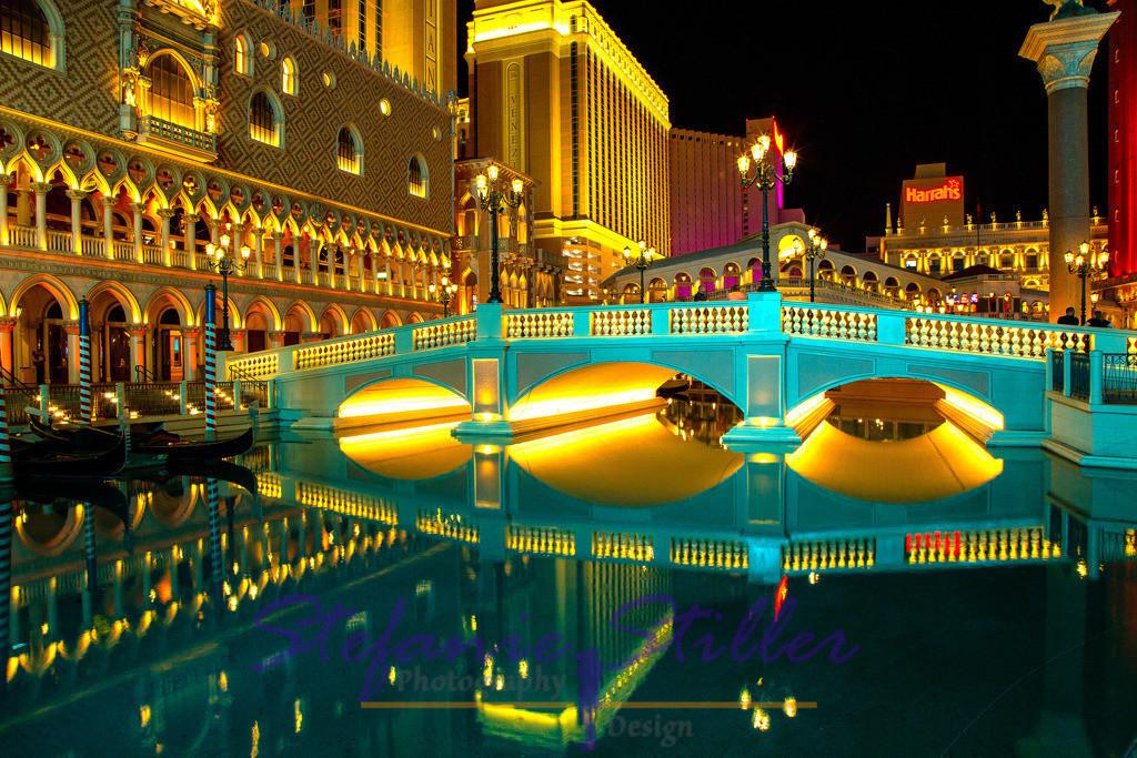 Gespiegeltes Venetian | Lights of Las Vegas