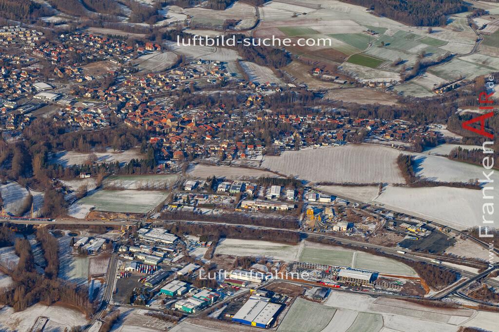 thurnau-19-152   aktuelles Luftbild von  Thurnau - Luftaufnahme wurde 2019 von https://frankenair.de mittels Flugzeug (keine Drohne) erstellt.