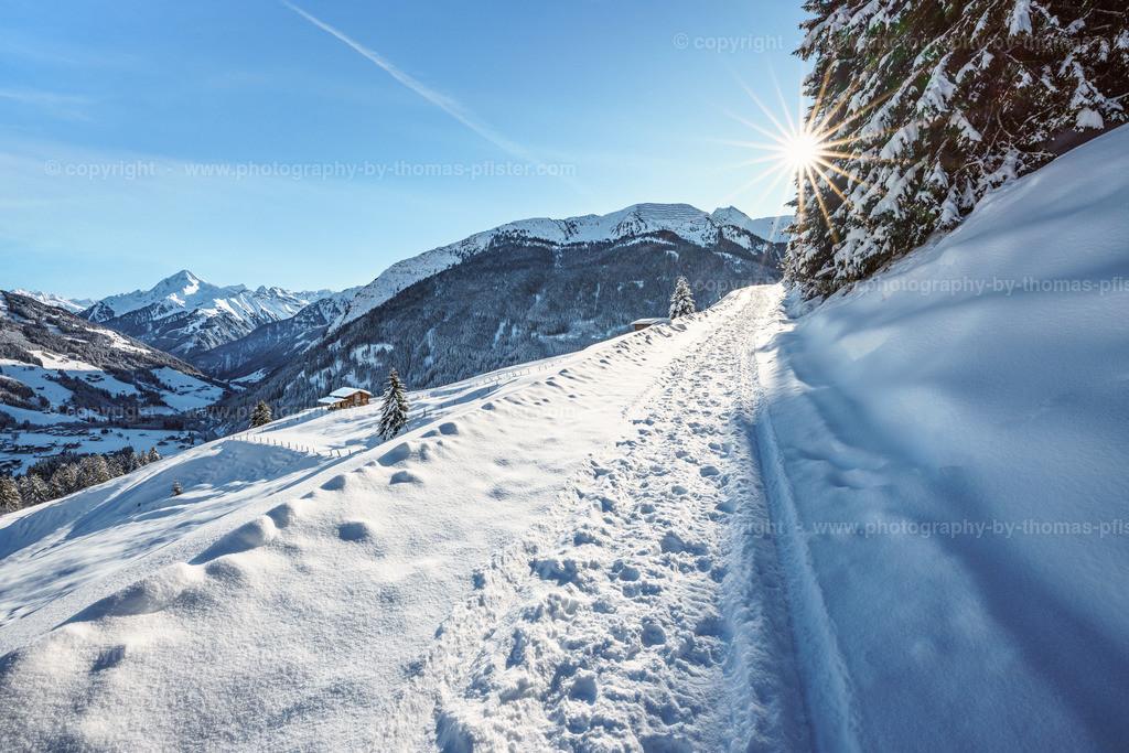 Winterwandern  Richtung Lattenalm Gemais-5