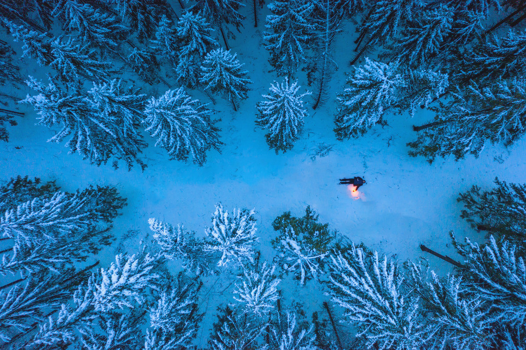Winter Wonderland, Hunsrück | Die Serie 'Deutschlands Landschaften' zeigt die schönsten und wildesten deutschen Landschaften.