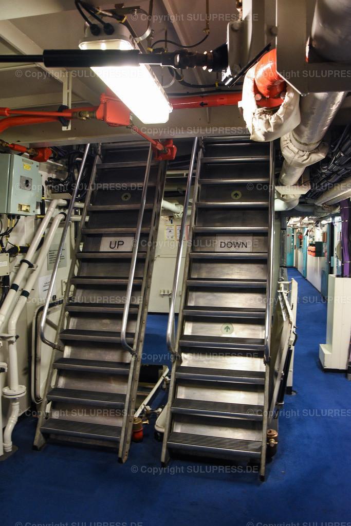 Treppen in der HMS