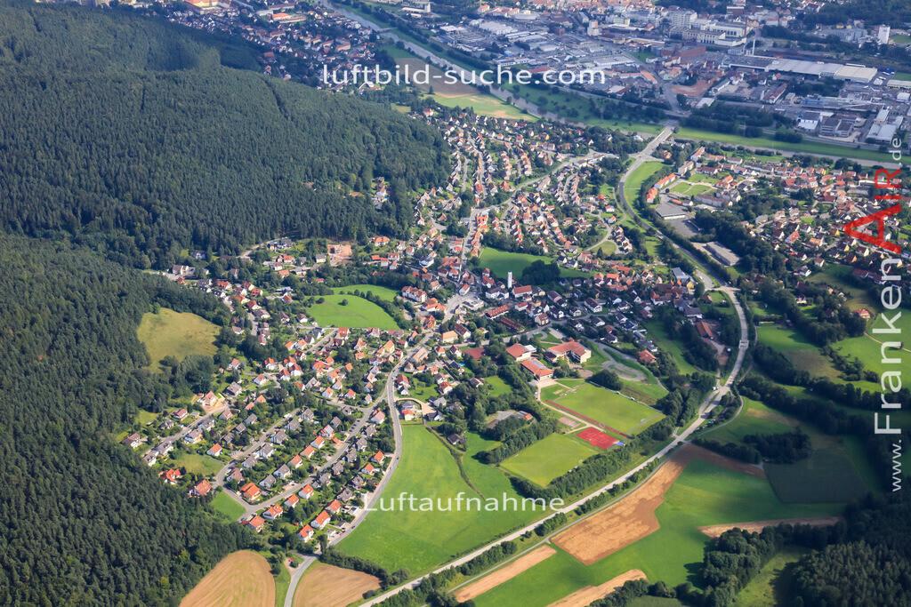 ziegelhuetten--2010-25 | Luftbild von Ziegelhuetten Kulmbach - Luftaufnahme wurde 2010 von https://frankenair.de mittels Flugzeug (keine Drohne) erstellt - die Geschenkidee