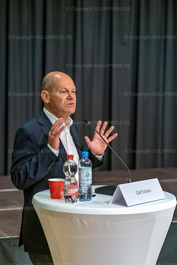 SPD Kandidaten WK61_2020_09_22-04938   22.09.2020, Teltow, Brandenburg, Bundesfinanzminister und SPD Kanzlerkandidat bei einer Rede im Ernst-von-Stubenrauch-Saal im Teltower