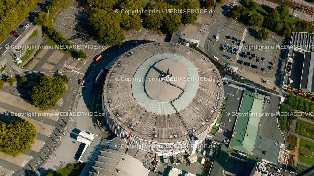 2010-10-01 Luftbilder Dortmund | Deutschland / Nordrhein-Westfalen / Dortmund / Dortmund / Westfalenhalle Foto: Michael Printz / PHOTOZEPPELIN.COM