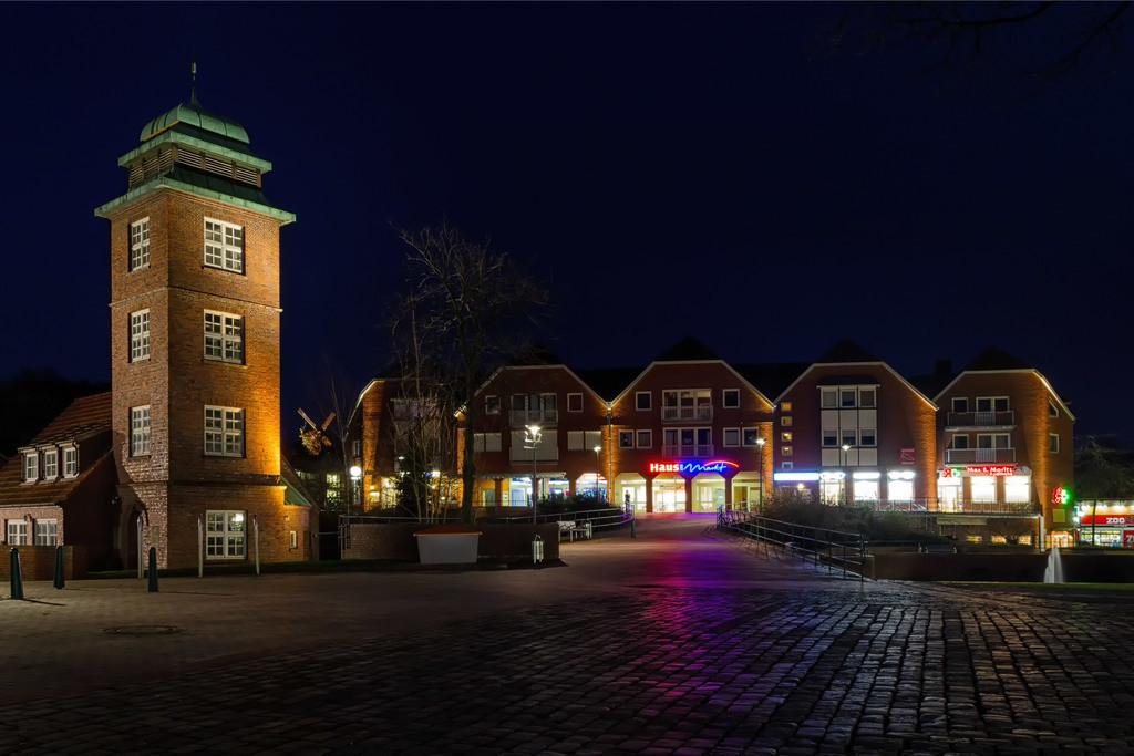 Marktplatz Osterholz-Scharmbeck | Diese Aufnahme ist aus dem Februar 2014.