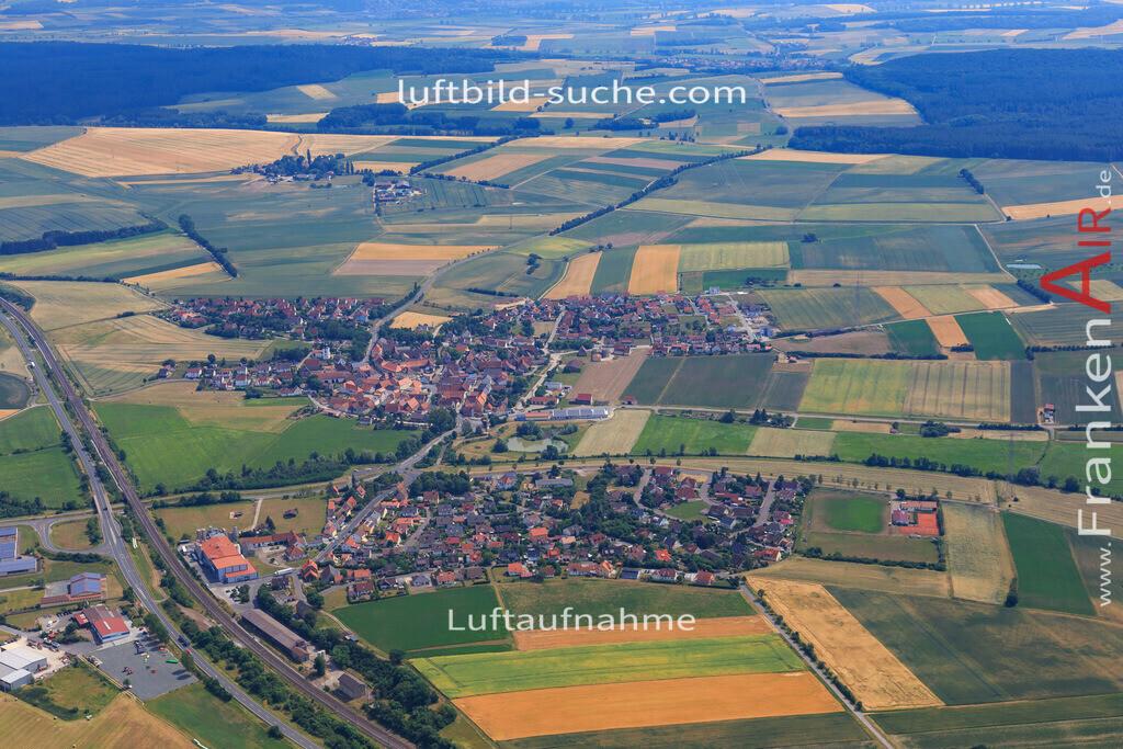 luftbild-langenfeld-17-1155 | Luftbild von  Langenfeld - Luftaufnahme wurde 2017 von https://frankenair.de mittels Flugzeug (keine Drohne) erstellt - die Geschenkidee
