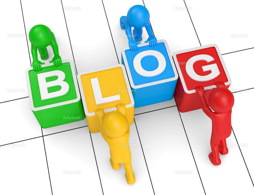 bunte 3d Männchen Blog