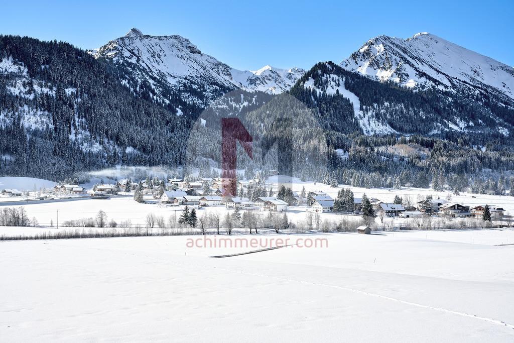 Winterlandschaft Tannheimer Tal, Tirol, Österreich