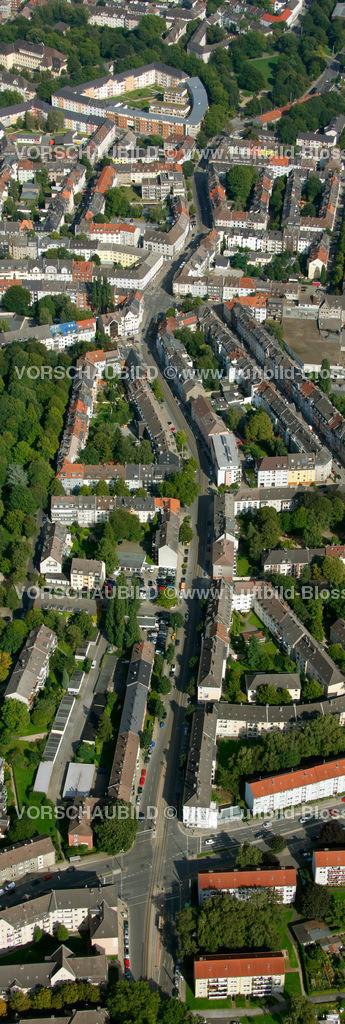 ES10094249a | Frohnhauseer Strasse, Luftbild,  Essen, Ruhrgebiet, Nordrhein-Westfalen, Germany, Europa, Foto: hans@blossey.eu, 05.09.2010