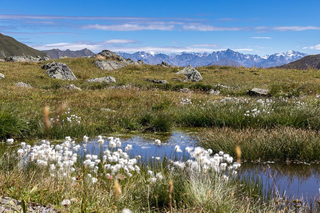 Schöner Ausblick in den Samnauner Alpen