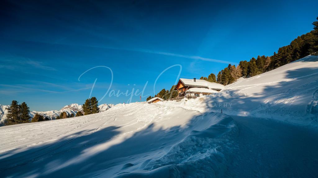 Feldringalm | Die Feldringalm im Winter
