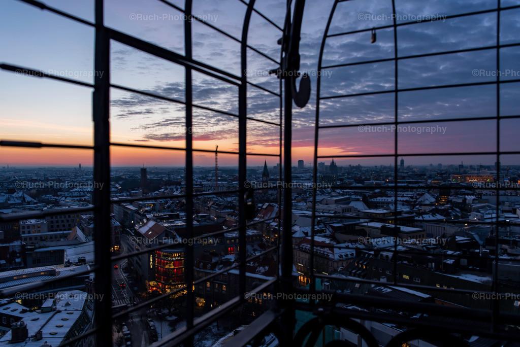 Sunset Munich