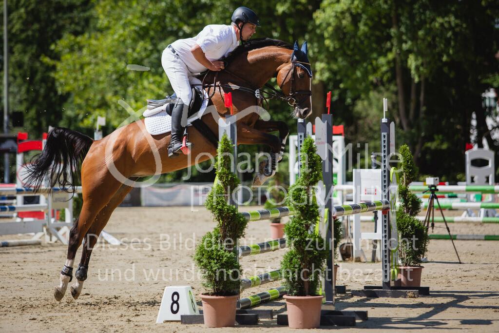 200819_Delbrück_Sprpf-A_2_1-211 | Delbrück Masters 2020 Springpferdeprüfung Kl. A** 4-6jährige Pferde