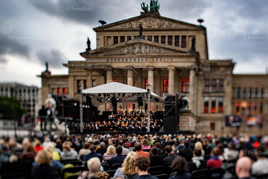 200 Jahre Konzerthaus Berlin - OpenAir | Rundblick auf das OpenAir-Konzert.