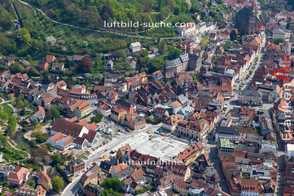 altstadt-kulmbach-18-239 | aktuelles Luftbild von Altstadt Kulmbach - Luftaufnahme wurde 2018 von https://frankenair.de mittels Flugzeug (keine Drohne) erstellt.
