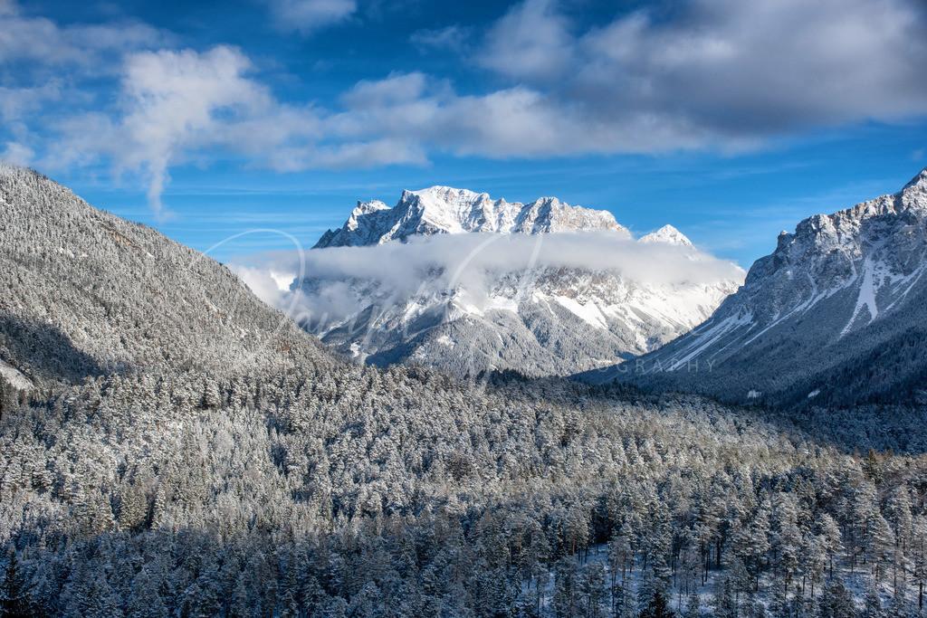 Zugspitze | Blick auf die imposante Zugspitze