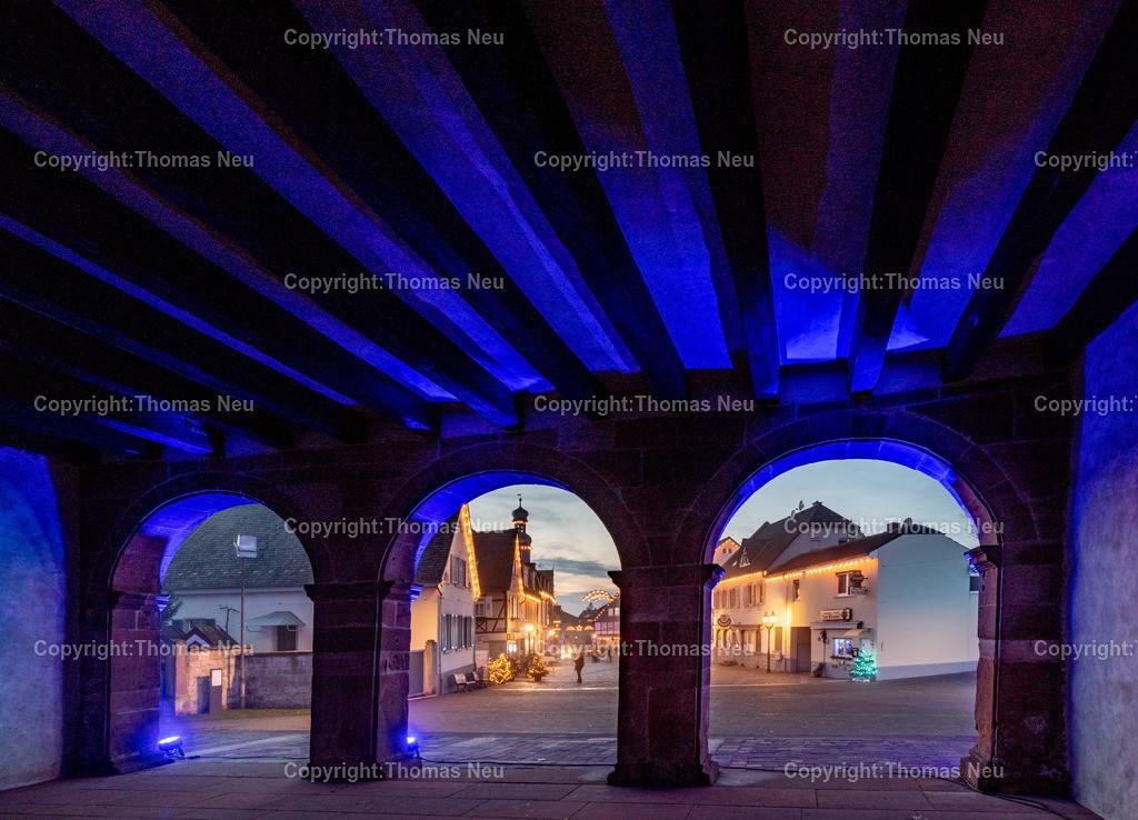DSC_3844 | ble,Lorsch, blaues Weihnachtswunder, Innenstadt, ,, Bild: Thomas Neu