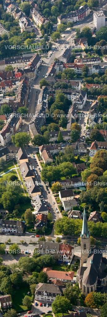 ES10094202a | Rellinghauser Strasse, Luftbild,  Essen, Ruhrgebiet, Nordrhein-Westfalen, Germany, Europa, Foto: hans@blossey.eu, 05.09.2010