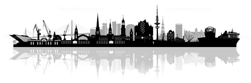 11983865 - Hamburg Skyline Panorama