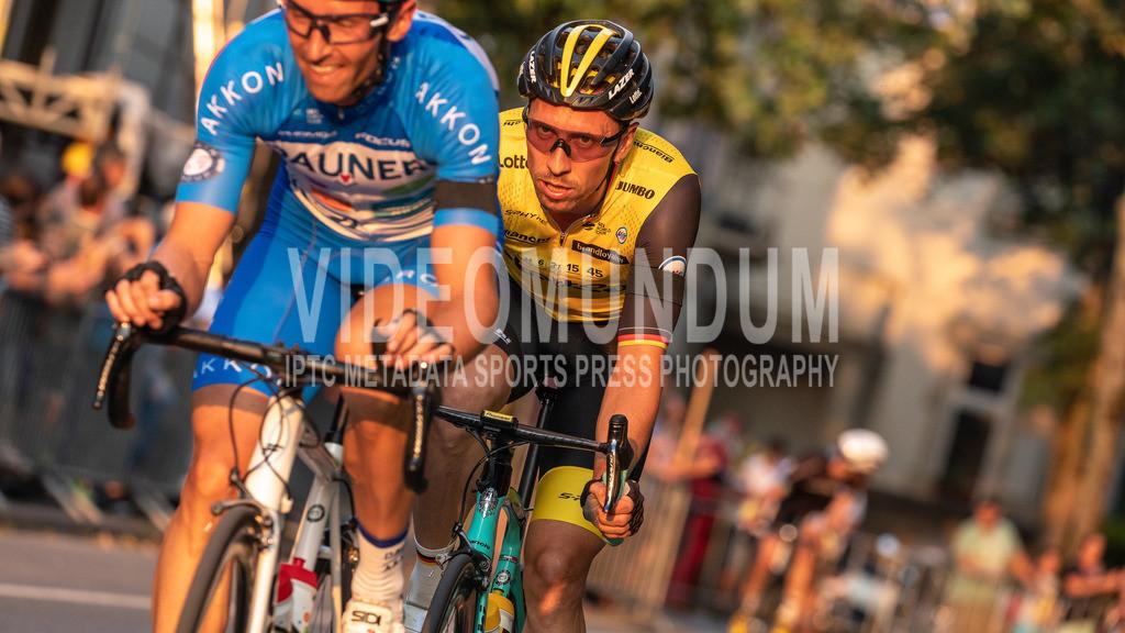 Neuss, Germany - August 1, 2018: Tour de Neuss, Road Race Criterium | Neuss, Germany - August 1, 2018: Tour de Neuss, Road Race Criterium, Photo: videomundum