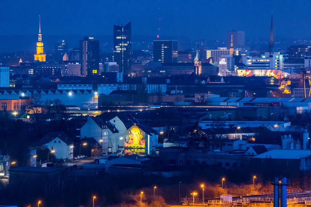 JT-180313-060   Stadtpanorama von Dortmund, Innenstadt,