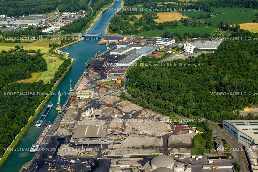 Luenen15071865   Stadthafen Lünen am Datteln-Hamm-Kanal, Binnenschifffahrt, Lünen, Ruhrgebiet, Nordrhein-Westfalen, Deutschland