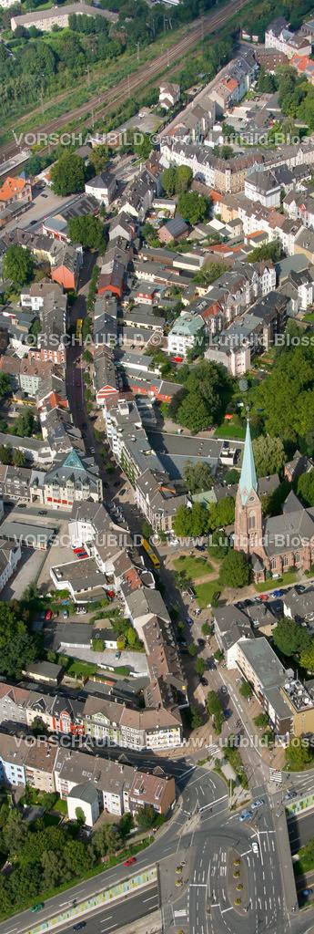 ES10094191a | Kray, Krayer Strasse, Luftbild,  Essen, Ruhrgebiet, Nordrhein-Westfalen, Germany, Europa, Foto: hans@blossey.eu, 05.09.2010